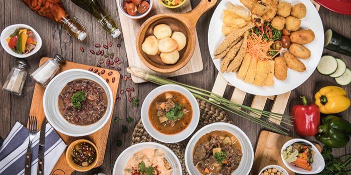 Complete Dish at Tucano