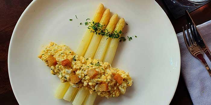 Asparagus from GaZette in Telok Ayer, Singapore