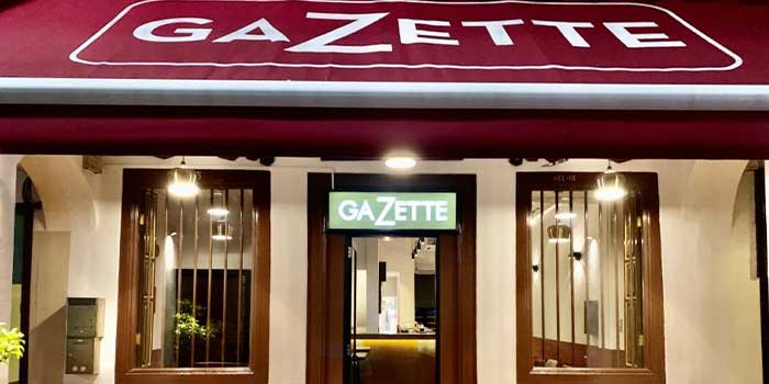 Exterior from GaZette in Telok Ayer, Singapore