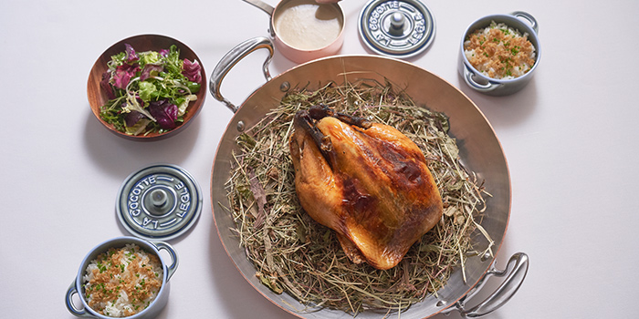Whole Roasted Poulard from Odette at Home (Delivery) in City Hall, Singapore