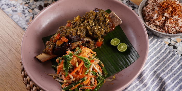 Iga Bakar Sambal Ijo at Social House, Grand Indonesia