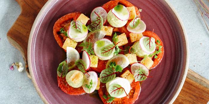 Tomato Feta Salad at Social Garden, Senayan City