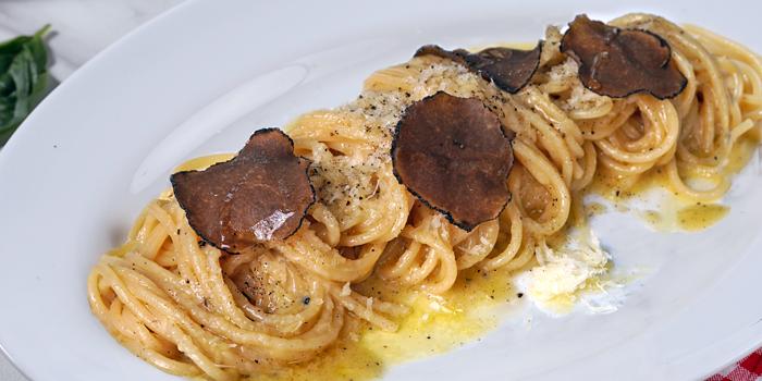 Spaghettoni Buro e Pepe at Osteria GIA, Pacific Place