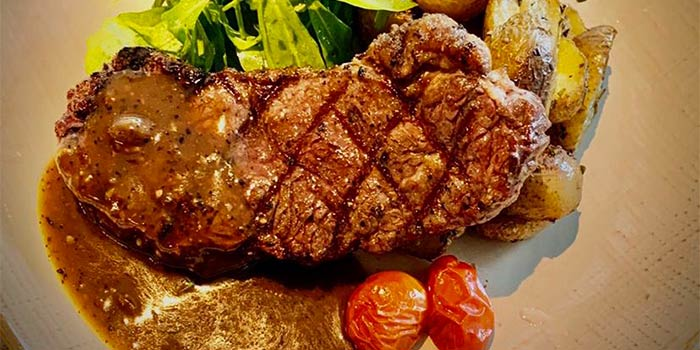 Char Grilled Steak  from The Gong by Drinks&Co. at Duo Galleria in Bugis, Singapore