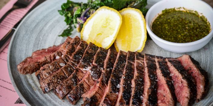 Flank Steak from Super Loco Customs House at Customs House in Raffles Place, Singapore