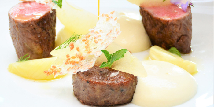 Beef Dishes from La scala at The Sukhothai Bangkok 13/3 South Sathorn Road Bangkok