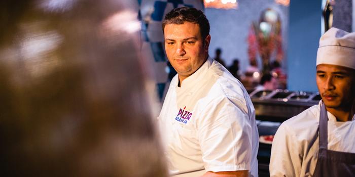 Chef  from Pizza Massilia at Ploenrudee Building 1Fl. Soi Ruamrudee, Ploenchit Rd Lumpini, Pathumwan Bangkok