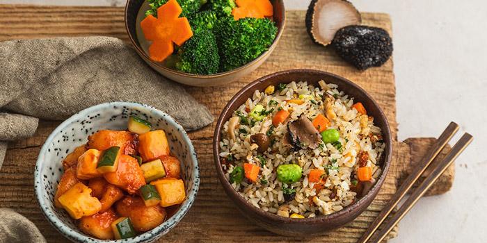 elemen vegetarian food delivery singapore