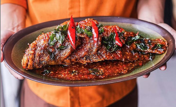 Jimbaran Fried Fish