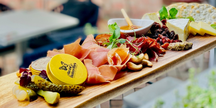 Cheese Board from Beast & Butterflies at M Social Singapore in Robertson Quay, Singapore