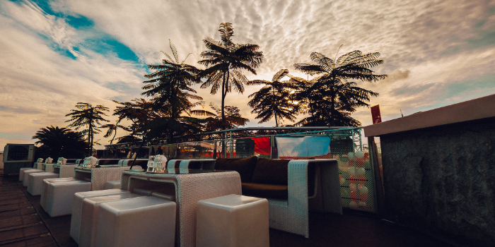 Daytime Venue of 1-Altitude in Raffles Place, Singapore