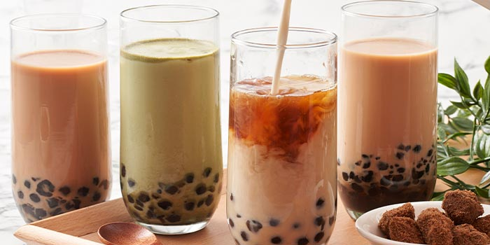 Bubble Tea from The Garden Kitchen in Tanjong Pagar, Singapore