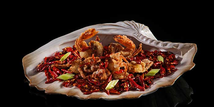 Fried Soft Shell Crab Spicy Chili at The Chinese National (Swissôtel Jakarta PIK Avenue)