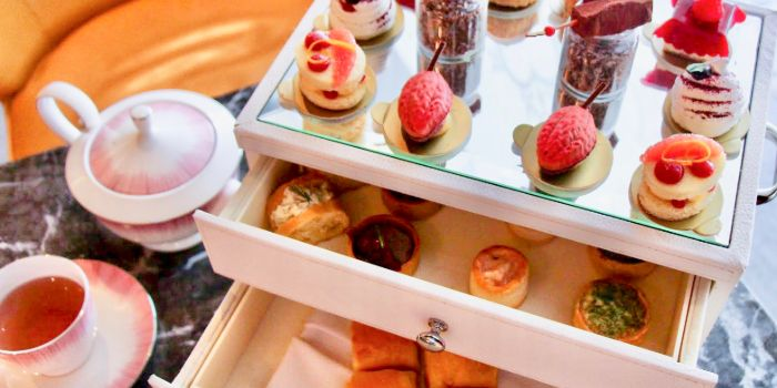 Afternoon Tea from Anti:dote at Fairmont Singapore in City Hall, Singapore