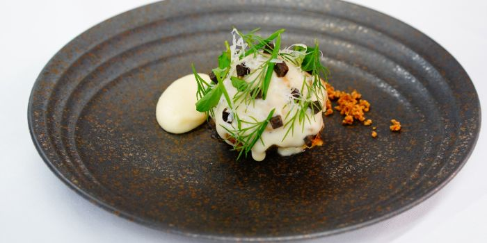 Baked Baby Cauliflower from Anti:dote at Fairmont Singapore in City Hall, Singapore