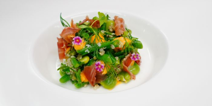 Mixed Summer Bean Salad from Anti:dote at Fairmont Singapore in City Hall, Singapore