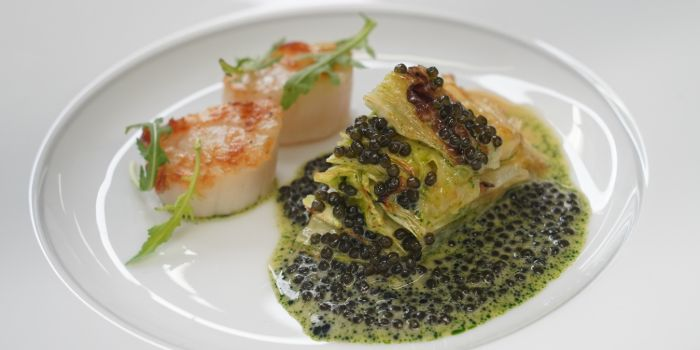 Grilled Scallop from Anti:dote at Fairmont Singapore in City Hall, Singapore