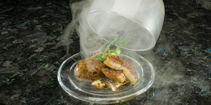 Spiced Foie Gras & Confit from Benares Modern Indian Cuisine at 18 Soi Sukhumvit 13, Khwaeng Khlong Toei Nuea, Khet Watthana, Bangkok