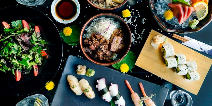 Assorted from Kinki Restaurant in Collyer Quay, Singapore