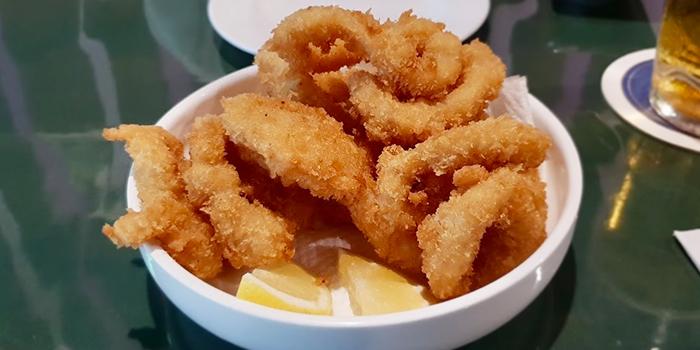 Calamari from Brauhaus Restaurant & Pub in Novena, Singapore