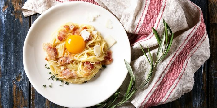 Carbonara from Burlamacco Cafe & Pizzeria in River Valley, Singapore