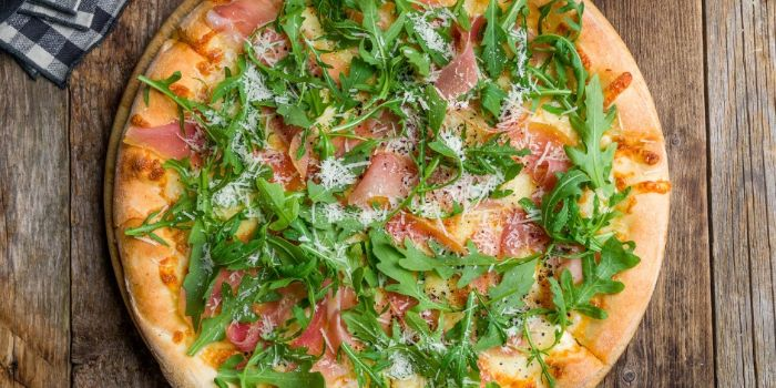 Parma Pizza from Burlamacco Cafe & Pizzeria in River Valley, Singapore