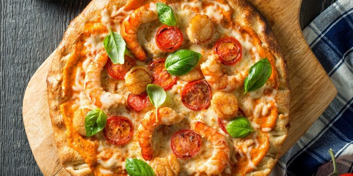 Fruiti de Mare Seafood Pizza from Burlamacco Cafe & Pizzeria in River Valley, Singapore