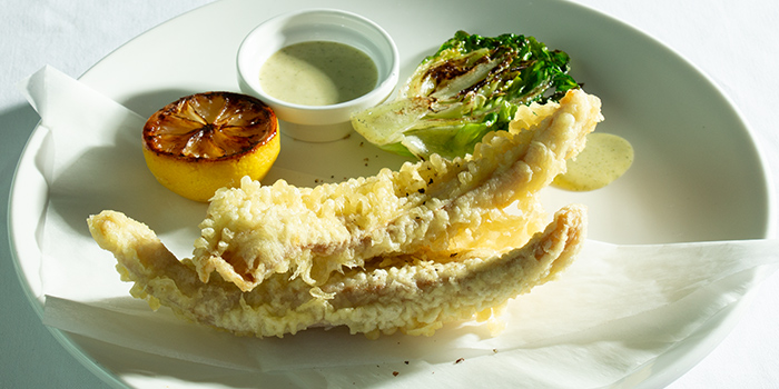 Halibut Goujonnettes from Amber West in Choa Chu Kang, Singapore