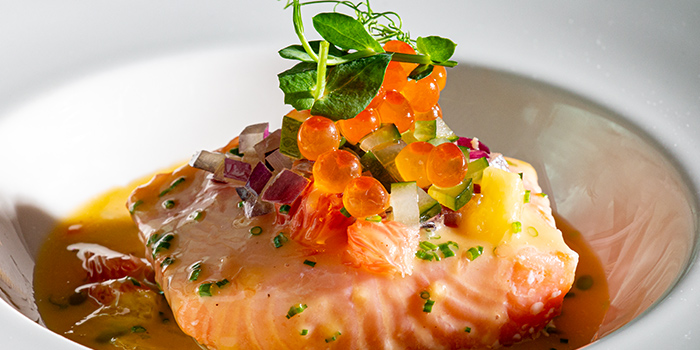 Salmon Confit from Amber West in Choa Chu Kang, Singapore