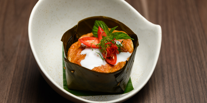 Hor Mok from Paka Restaurant at 1194 Thanon Nakhon Chaisi Rd, Khwaeng Thanon Nakhon Chai Si, Khet Dusit, Bangkok