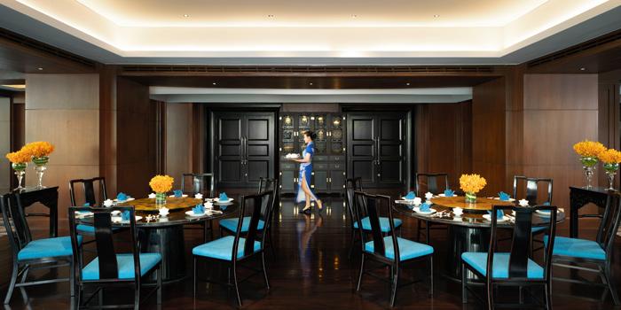 Dinning Area of Man Ho Chinese Restaurant at JW Marriott Hotel Bangkok (2nd Floor) 4 SukhumvitSoi 2, Sukhumvit Rd Bangkok