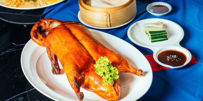 Peking Duck from Man Ho Chinese Restaurant at JW Marriott Hotel Bangkok (2nd Floor) 4 SukhumvitSoi 2, Sukhumvit Rd Bangkok