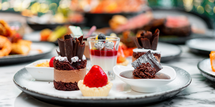 Dessert Dishes from JW Cafe at JW Marriott Hotel Bangkok (1st Floor) 4 SukhumvitSoi 2, Sukhumvit Rd Bangkok