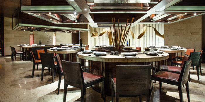 Dining Area of Nami Teppanyaki Steakhouse at JW Marriott Hotel Bangkok (LL Floor) 4 SukhumvitSoi 2, Sukhumvit Rd Bangkok