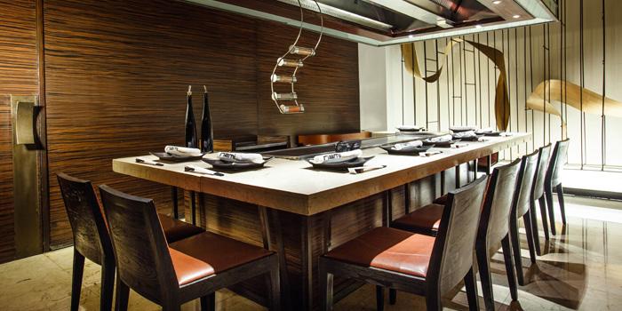 Dining Area of Nami Teppanyaki Steakhouse at JW Marriott Hotel Bangkok (LL Floor) 4 SukhumvitSoi 2, Sukhumvit Rd Bangkok