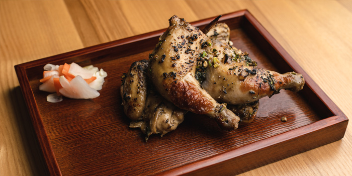 Grilled Baby Chicken, Soho Viet, Central, Hong Kong