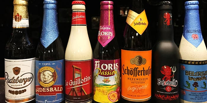 Imported Beer from Brauhaus Restaurant & Pub in Novena, Singapore