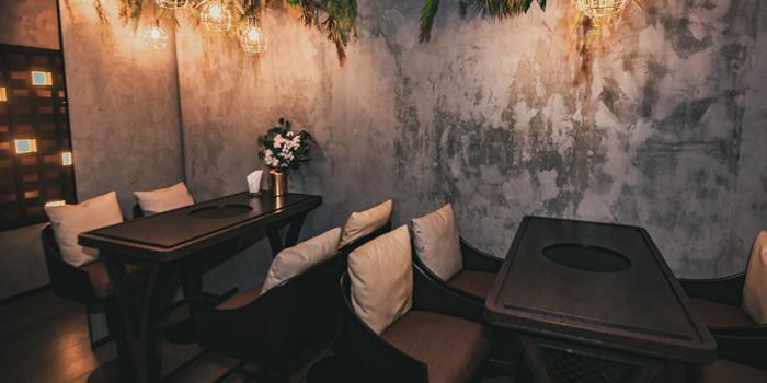 Dining Area, FJAKA, Causeway Bay, Hong Kong
