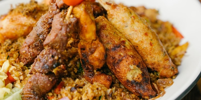 Nasi Goreng at Kayu Kayu Restaurant