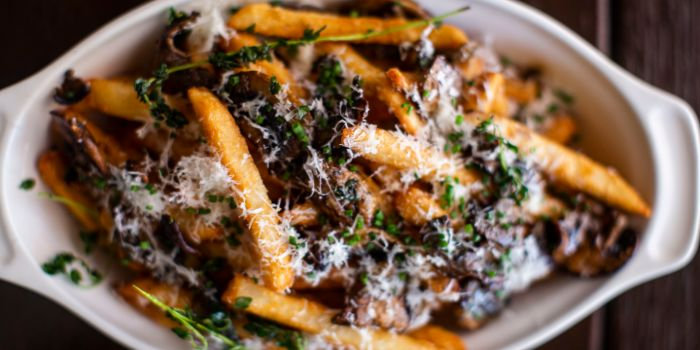 Truffle Fries Maximus from Mischief at Esplanade in Promenade, Singapore