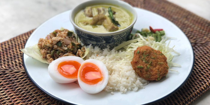 Special Lunch Set from Thai Lao Yeh at The Cabochon Hotel 14, Sukhumvit Soi 45 Sukhumvit Rd. Khlongtannua, Wattana Bangkok