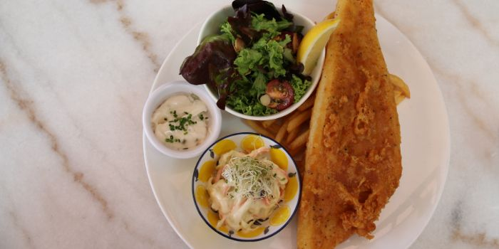Fish & Chips from Camden Hill Restaurant & Bar  in Bukit Timah, Singapore