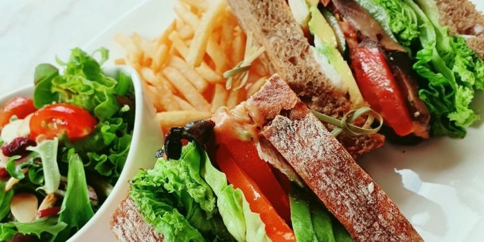 Healthy Sandwhich from Camden Hill Restaurant & Bar  in Bukit Timah, Singapore