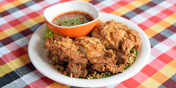 Fried Chicken from Somtum Der at 5/5 Saladaeng Rd Silom, Bang Rak Bangkok