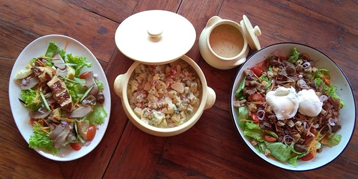 Dish from REV Retro, Seminyak, Bali