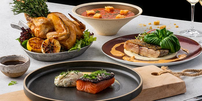 Assorte from Xperience Restaurant in SO Sofitel Singapore in Raffles Place, Singapore