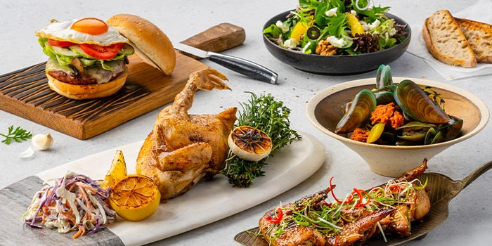 A La Carte from Xperience Restaurant in SO Sofitel Singapore in Raffles Place, Singapore