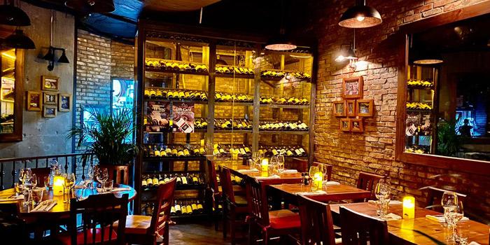 Dining Area, El Gaucho Bar & Grill (Wyndham Street), Central, Hong Kong