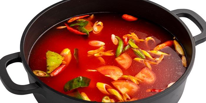 Tom Yum Hot Pot from Suki-Suki Thai Hot Pot in Yishun, Singapore