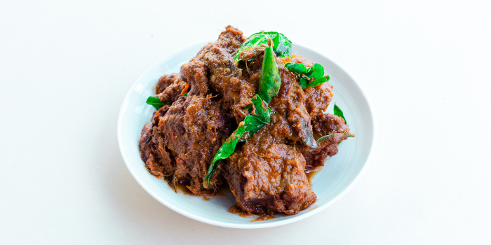 Beef Rendang from The Coconut Club in Telok Ayer, Singapore